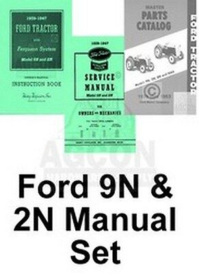 Fine Ford 9N 2N Tractor Shop Service Operators Parts Manuals 45 41 Wiring Digital Resources Cettecompassionincorg