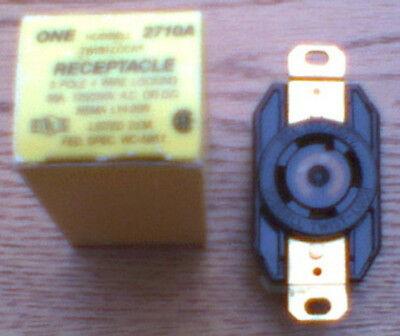 NEW HUBBELL 30 Amp 125/250  L14-30R HBL2710 RECEPTACLE