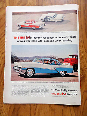 1956 Mercury Montclair Phaeton 4 Door Hardtop Ad