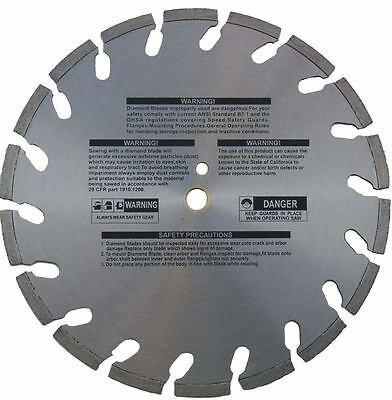 """12"""" Diamond Blade For Gas Powered Cut Off Saw Concrete"""