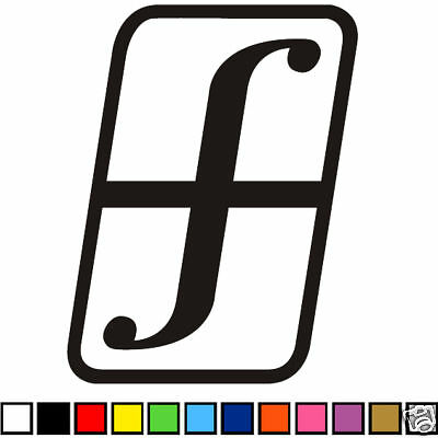 FORUM SNOWBOARDS DECAL STICKER WINDOW GRAPHIC 12x19cm