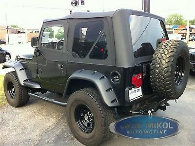 97-06 Jeep Wrangler Replacement Soft Top + Upper Skins