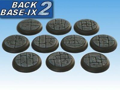 30mm Resin Scenic RS Bases (10) Dungeon Stone