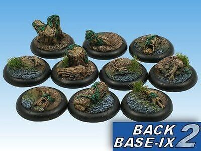 30mm Resin Scenic RS Bases (10) Forest