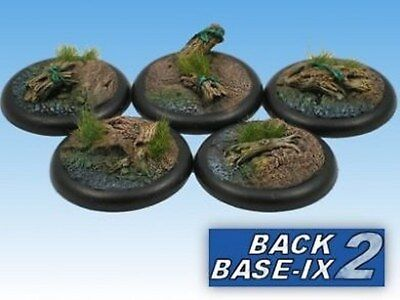 40mm Resin Scenic RS Bases (5) Forest