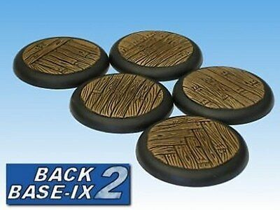 40mm Resin Scenic RS Bases (5) Timber Decking