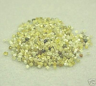 50+ Carats Beautiful RARE Raw Natural Uncut ROUGH DIAMONDS CUBES Best eBay DEAL