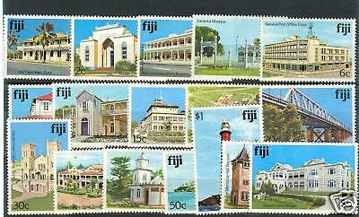 ARCHITETTURA - ARCHITECTURE FIJI 1979 Common Stamps