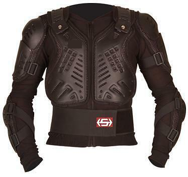 Motocross Enduro Body Armour Protection Suit Jacket Xl
