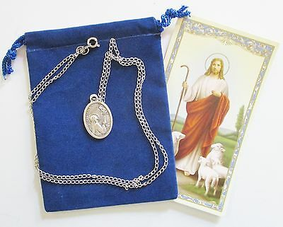 St. Margaret Saint Medal with 24 Inch Necklace