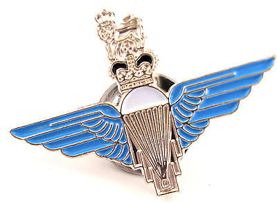 PARATROOPERS BADGE Royal Air Force lapel tie pin metal Military army soldier kit