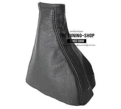 Black Leather Gear Stick Gaiter Cover Boot For Vauxhall Opel Zafira A 1999-2005
