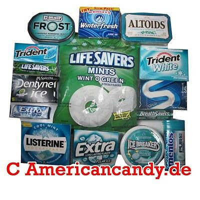 Mix:  Exklusives WINTERGREEN Paket (15 Wintergreen-Produkte USA) (65,24€/kg)
