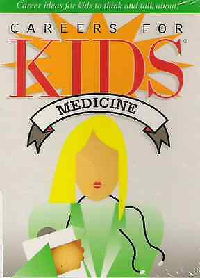 Careers for Kids Medicine Conversation New sealed 40 Cards deck Fun Facts doctor