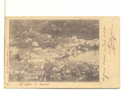 Omegna  Fp  Viagg 1902 Panorama