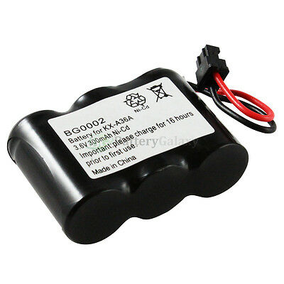 Cordless Home Phone Rechargeable Battery for Panasonic KXA36A KX-A36A 1,700+SOLD
