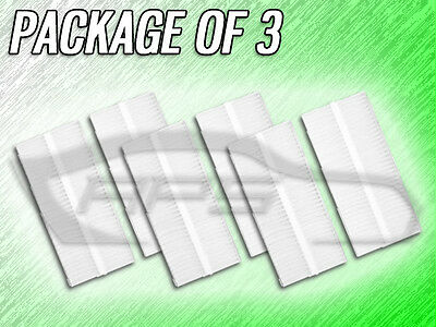 PACKAGE OF THREE C15850 CABIN AIR FILTER FOR QX56 ARMADA TITAN