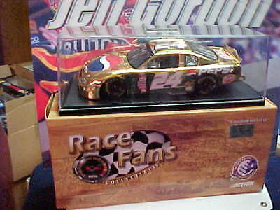 2000 JEFF GORDON #24 DUPONT / PEPSI 24K GOLD 1/24 CAR