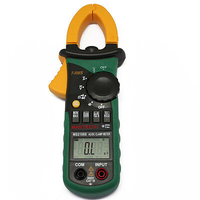 New MS2108 6600 TRUE RMS AC DC CURRENT Clamp Meter