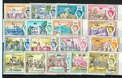 ARCHITETTURA - ARCHITECTURE BERMUDA 1970 Common Stamps