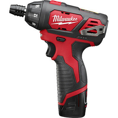 Milwaukee 2401-22 M12 1/4 in. Hex Screwdriver Kit