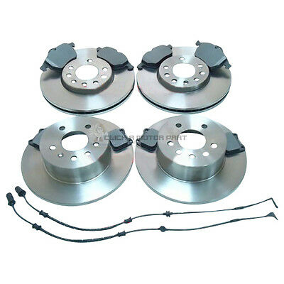 VAUXHALL VECTRA 2.0 2.5 GSI SRI 1995-2002 FRONT 2 BRAKE DISCS AND PADS SET NEW