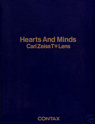 Used Carl Zeiss T* Lens - Hearts And Minds - By Contax
