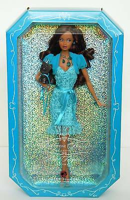 AA TURQUOISE~DECEMBER Birthstone Model Muse Barbie~NRFB