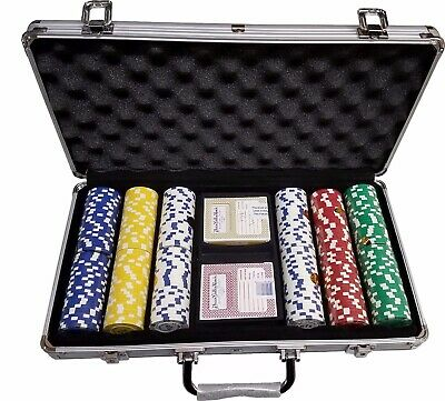 300 Desert Palace Casino 11.5 Poker Chips Custom Set *