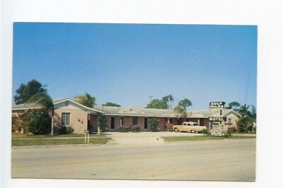 VENICE, FL, OLD Postcard View of Sunset Apartment Motel