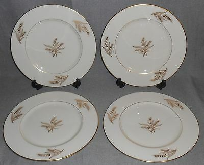 Set (4) Lenox HARVEST PATTERN Dinner Plates MADE IN USA