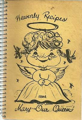 *omaha Ne Vintage *heavenly Recipes Cook Book *mary Our Queen Catholic Church