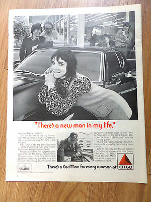 1971 Citgo Oil Gas Ad New Man in My Life