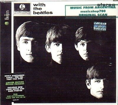 The Beatles With The Beatles Sealed Cd New Remastered