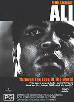 Muhammad Ali - Through The Eyes Of The World DVD Region 4 New Sealed