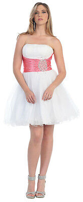 Short Prom Dress Party Cruise Cocktail Semi Formal Homecoming Graduation 43642d166