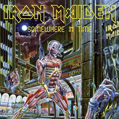 IRON MAIDEN - SOMEWHERE IN TIME ~ Enh. METAL CD *NEW*