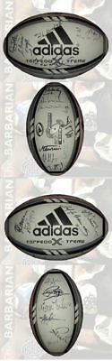 BARBARIANS v NEW ZEALAND 2004 OFFICIAL SIGNED BALL