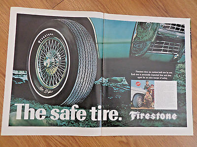 1968 Firestone Ad Chevrolet Buick Pontiac Buick Ford ?