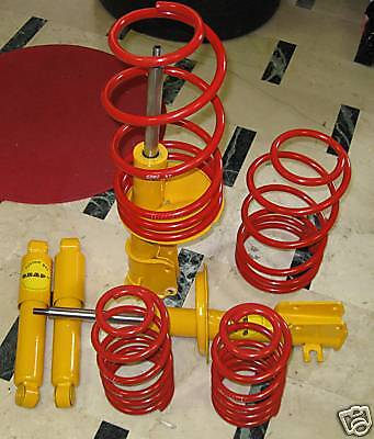 Kit assetto Fiat Coupe 16V 20V Turbo ORAP EIBACH GAS Molle Ammortizzatori Sport