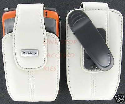 OEM RIM Blackberry Leather Case Holster Curve 8530 8330