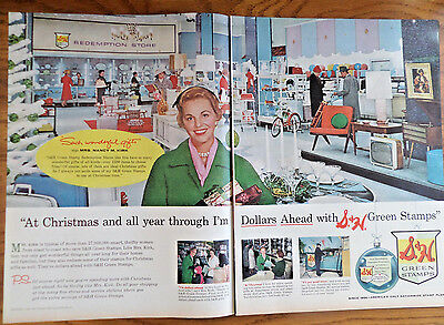 1959 S & H Green Stamps Ad Mrs Nancy M Kirk