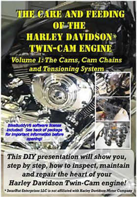 Harley Davidson Dvd The Care Of The Twin Cam Engine New Clearance Price Last Few