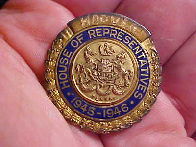 1945 Pennsylvania Congressional Members Pin / Badge