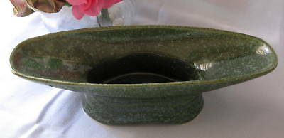 American Bisque Green Speckled Glaze Pedestal Planter