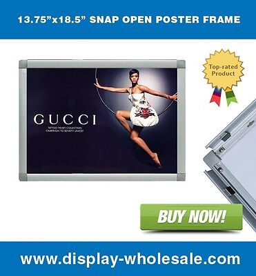 """Snap-open Poster Frame 13.75""""x18.5"""""""