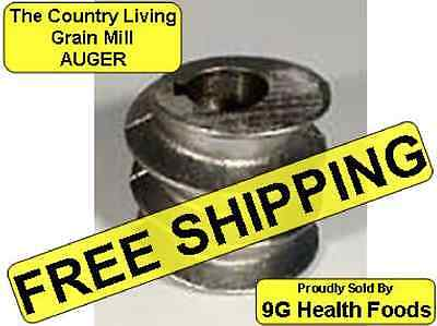 Country Living Grain Mill - Corn and Bean Auger - NEW