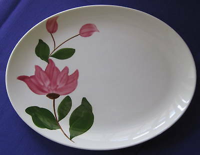 Stetson China Vintage Rio Pink Rose Serving Platter