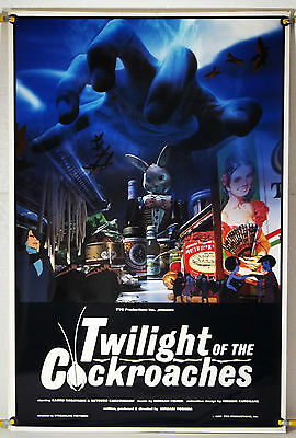 TWILIGHT OF THE COCKROACHES ROLLED ORIG 1SH MOVIE POSTER 80'S ANIME (1987)