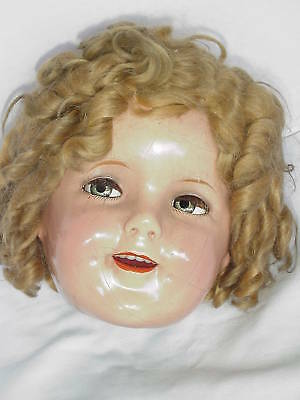Doll Doctor Fix Composition Flirty Eyed Shirley Temple Doll Eyes & Lashes